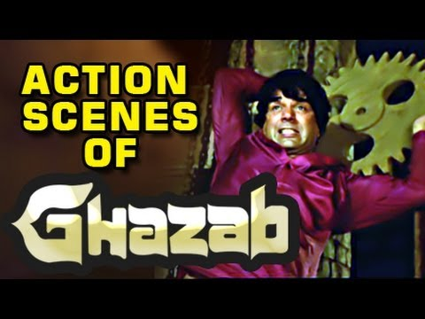 Video Dharmendra Action Scene - Ghazab download in MP3, 3GP, MP4, WEBM, AVI, FLV January 2017