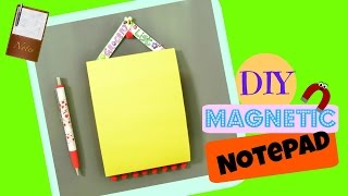 Magnetic Grocery List Notepad