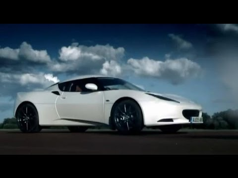Lotus - Jeremy Clarkson takes the pocket sized but punchy Lotus Evora out on to the Top Gear track. With electronic gizmos in the front where an engine would normall...