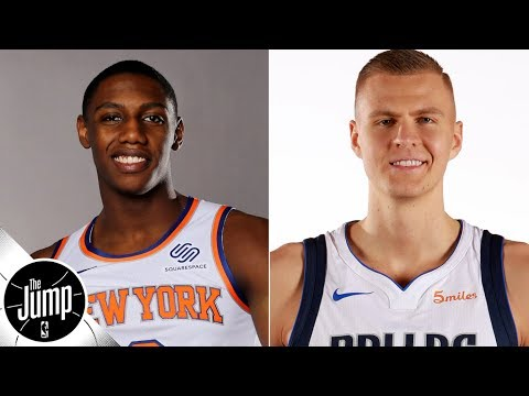 Video: RJ Barrett says he wants to dunk on Porzingis, but does he really want to get Zion? | The Jump