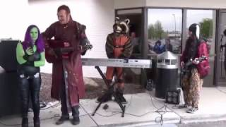 Guardians of the Galaxy Cosplay Performance