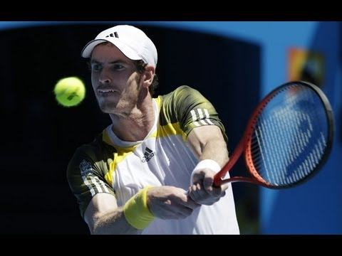 First-round win for Andy Murray at Australian Open 2013