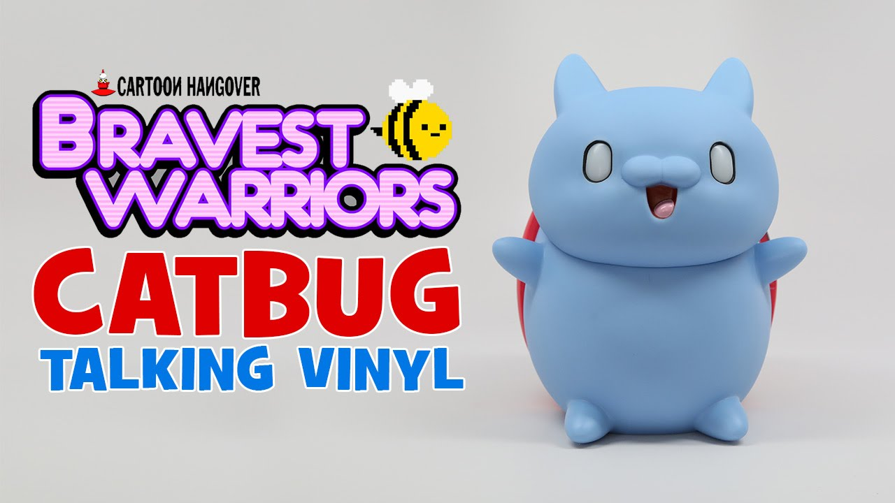 CATBUG Talking Vinyl Figure!