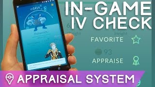 NEW APPRAISAL SYSTEM EXPLAINED: HOW TO FIND EXACT IVs (Pokémon GO) by Trainer Tips