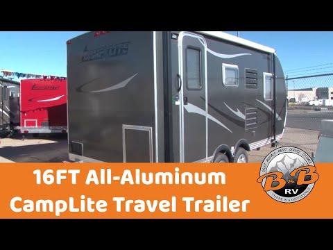 16FT All aluminum Camp Lite Trailer