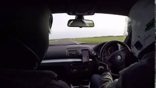 BMW 135i Bedford Autodrome GT Circuit slide
