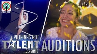 Video Pilipinas Got Talent 2018 Auditions: Kristel De Catalina - Spiral Pole Dancing MP3, 3GP, MP4, WEBM, AVI, FLV Oktober 2018