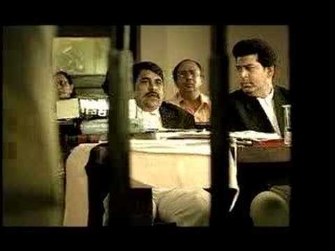 Funny Indian ad about AIDS awareness --Courtroom
