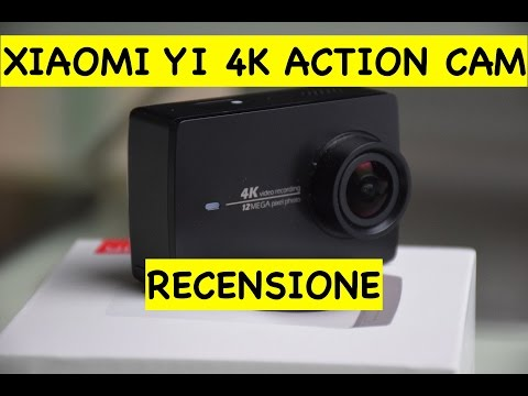 Xiaomi YI 4K Action Cam unboxing e recensione