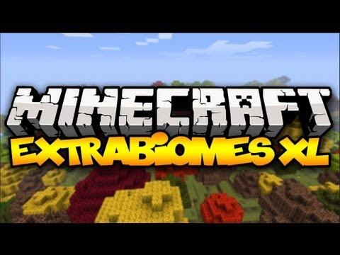 Minecraft: EXTRABIOMES XL! (More Biomes!)   Mod Showcase