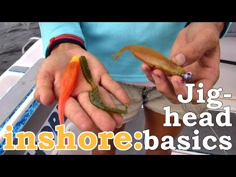 How to Fish Inshore Jig-Heads: Lucky Tackle Box Tips