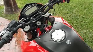 4. 2010 ducati hypermotard 796 running