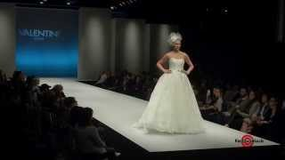 Valentini Spose - FW15 - Short Preview of Bridal Runway Show at Pier 94
