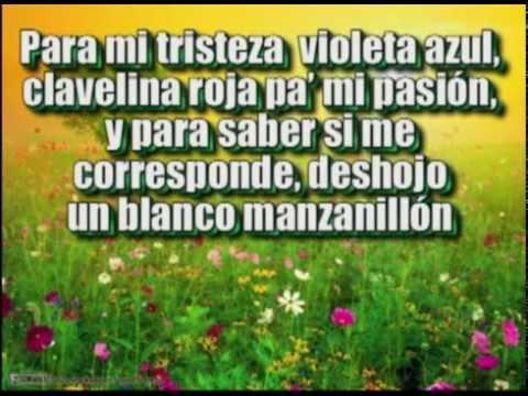 La jardinera - Violeta Parra - Con Letra
