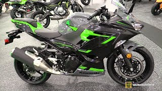9. 2019 Kawasaki Ninja 400 ABS - Walkaround - 2018 AIMExpo Las Vegas