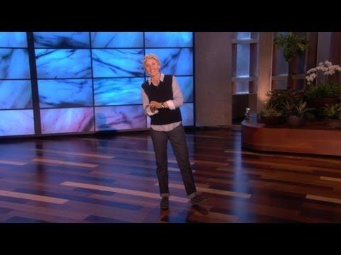 Ellen DeGeneres o lidech, co moc mluví