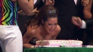 Ariadne Díaz Celebró Su Cumpleaños Embarrada De Pastel - Despierta América