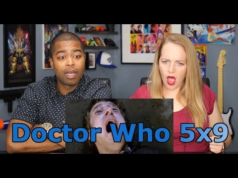 """Doctor Who Season 05 Episode 09 """"Cold Blood"""" (Jane and JV's REACTION 🔥)"""