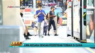 Sejumlah wilayah di DKI Jakarta sedang melakukan pembenahan pedestrian. Hal ini agar warga di Jakarta nyaman berjalan kaki.Selain dapat mengurangi polusi udara, berjalan kaki jauh lebih menyehatkan diri dan sesame. Fasilitas pedestrian yang memadai tentu dibutuhkan. Berikut 5 kota di berbagai negara dengan fasilitas pedestrian paling bersahabat.