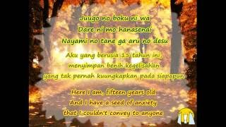 Nonton Lyrics Angela Aki Tegami  Have A Song On Your Lips Ost  Letter  Romanization Indonesian English  Film Subtitle Indonesia Streaming Movie Download
