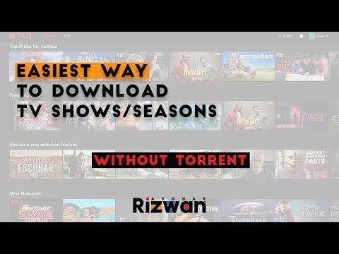 Download Seasons/TV Shows without TORRENT