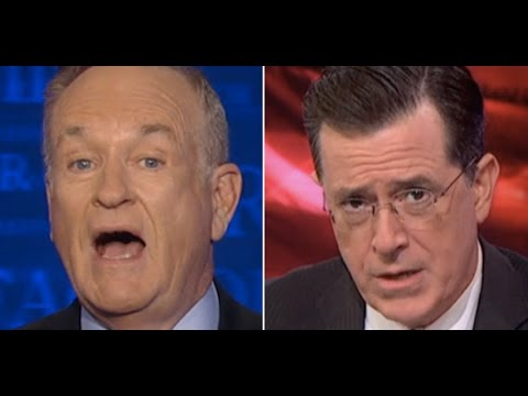 Stephen - Bill O'Reilly offended by Stephen Colbert mocking his global fighting force mercenary idea... This clip from the Majority Report, live M-F at 12 noon EST and via daily podcast at http://Majority...