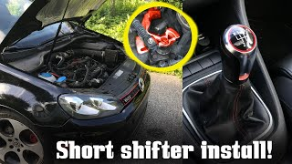 Mk6 GTI Gets A Forge Short Shifter! (FIRST MOD!) by Ignition Tube
