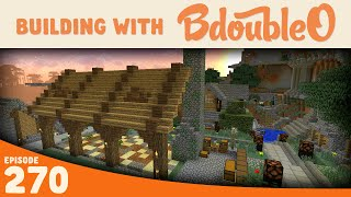Minecraft :: NEW Tree Building! :: Building with BdoubleO :: Episode 270