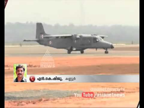 First flight lands at Kannur International airport