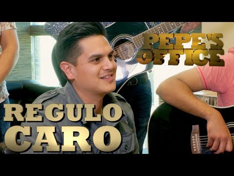 REGULO CARO PRESUME SU NUEVO MATERIAL - Pepe's Office