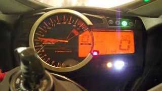 9. How to: Set RPM Indicator 2012 Suzuki GSXR 600 L2