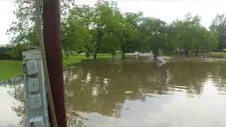 Bonham (TX) United States  City pictures : Bonham Texas Trades Day flooding