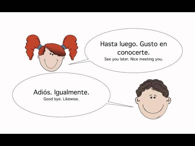Basic spanish conversation greetings and basic spanish conversation greetings and m4hsunfo