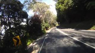 Sassafras Gully Australia  city pictures gallery : Descending Mt Dandenong from Sassafras to Upper Ferntree Gully, via the Devil's Elbow