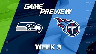 Video Seattle Seahawks vs. Tennessee Titans | Week 3 Game Preview | NFL Playbook MP3, 3GP, MP4, WEBM, AVI, FLV Oktober 2017