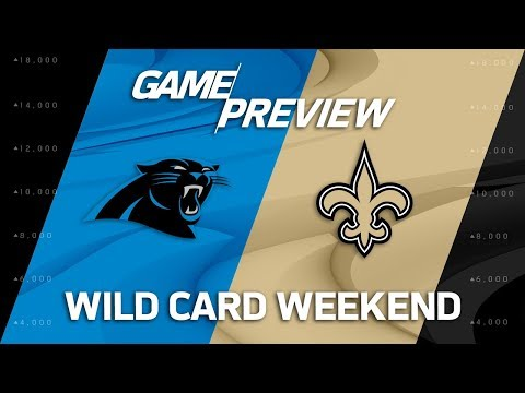 Video: Carolina Panthers vs. New Orleans Saints | NFL Wild Card Weekend Game Preview | Move the Sticks
