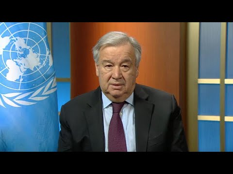 UN Secretary-General's Video Message on Women and COVID19