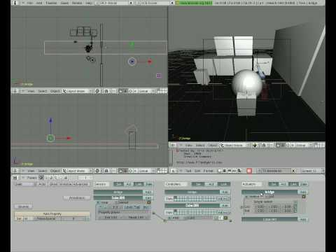 Blender: rendering gioco 3D completo