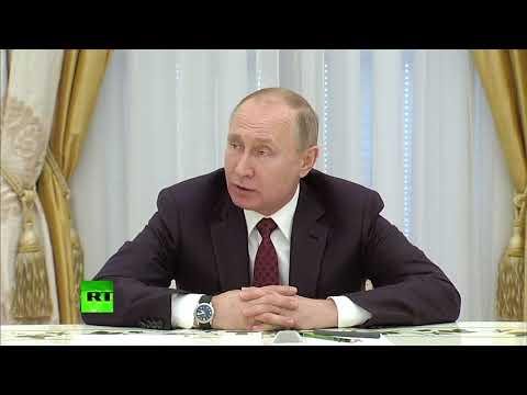 Путин: «Никакой гонки вооружений мы не допустим» - DomaVideo.Ru