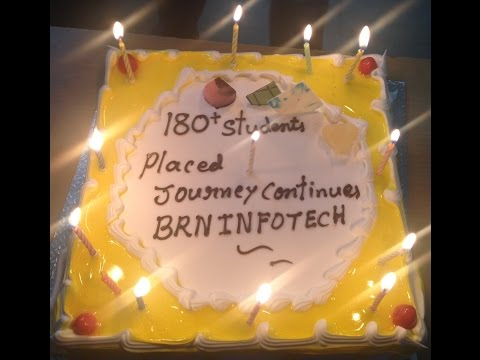 180 PLACEMENTS CELEBRATIONS @ BRN INFOTECH