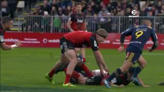 Crusaders v Highlanders Rd.15 Super Rugby Video Highlights 2017
