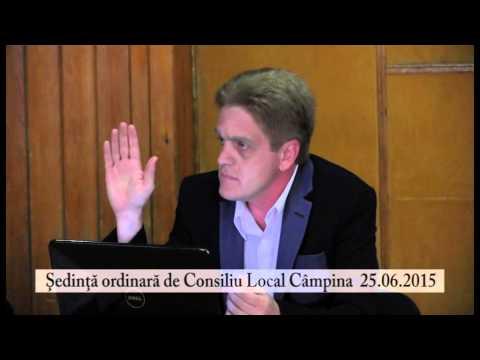 Sedinta Ordinara a Cosiliului Local Campina – 26 iunie 2015