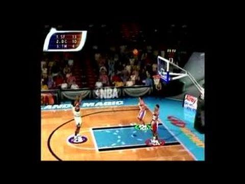 NBA Hoopz Dreamcast