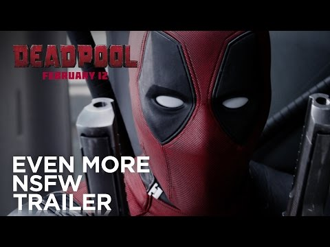 Watch the Second  Deadpool  Red Band Trailer