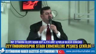 MHP Zeytinburnu Belediye Başkan Adayı Av Fethi Ahmet Alparslan Balıkesir Derneğinde