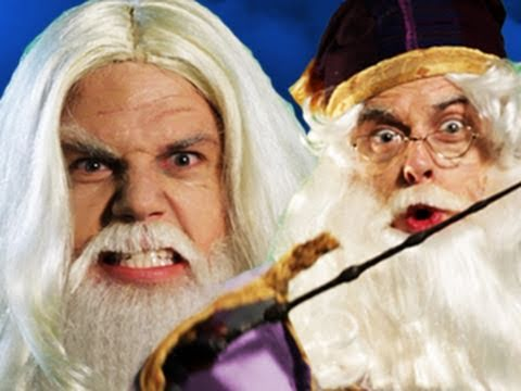Gandalf vs Dumbledore. Epic Rap Battles