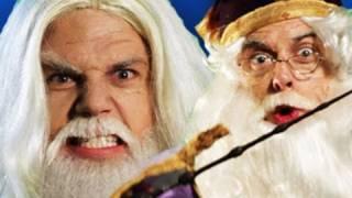 Gandalf vs Dumbledore. Epic Rap Battles of History