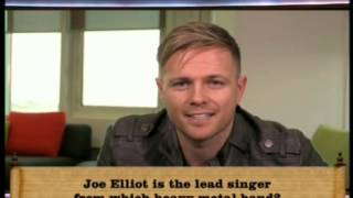 Nicky Byrne Clip 1001 Things You Should Know ep 10