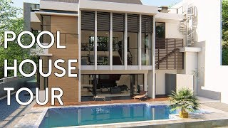 Video Pool House Design Tour [Desain Rumah Bapak Hady] MP3, 3GP, MP4, WEBM, AVI, FLV Maret 2019