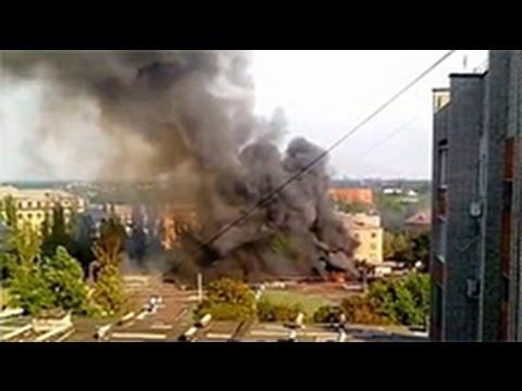 УЖАС! Украинские Каратели пошли в НАСТУПЛЕНИЕ! Новости, Украина, АТО, 2014 mp4 (видео)